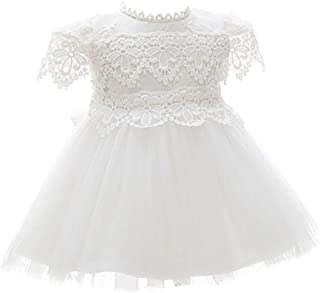 zhbotaolang Christening Gowns Newborn Skirt Full Moon Birthday Wedding Princess Dress