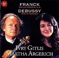 Franck & Debussy: Violin Sonatas by Ivry Gitlis (2015-05-20)