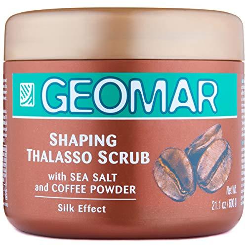 Geomar Thalasso Scrub Rimodellante con Sale di mare e Caffè, 600g