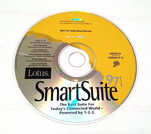 Lotus Smartsuite 97 Lotus 1-2-3 5 Wordpro 97 Approach 97 Freelance Graphics 97 Organizer 97 Screencam 97 (CD-ROM)
