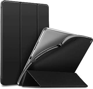 ESR iPad Air 2019 ケース iPad Air3 10.5インチ ソフトカバー TPU 耐衝撃 傷防止 オートスリープ機能 軽量 薄型 三つ折りスタンド スマートカバー 2019年発売の10.5インチ iPad 対応(ブラック)