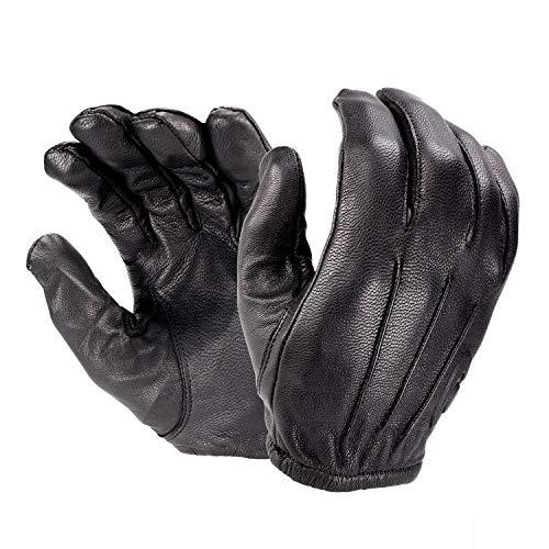Hatch RFK300 - Guante de piel resistente a cortes con Kevlar, color negro, tamaño mediano