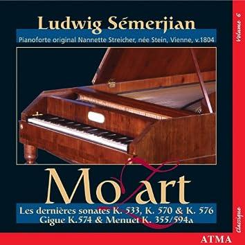 Mozart: Piano Sonatas, Vol. 6 (K. 355, 494, 533, 570, 574, 576, 594)