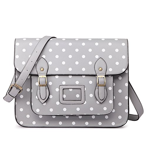 Bags & Purses Spring-Summer_17 Schulranzen, one Size, 1665 Dots Grey