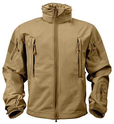 ROTHCO Special Ops Tactical Soft Shell Jacket, Coyote Brown, S