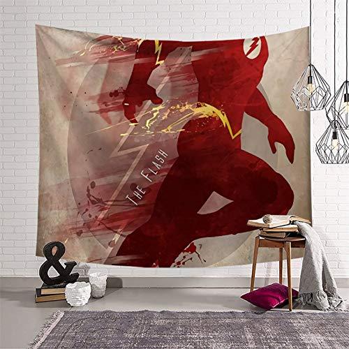 PearlRolan Decoraciones Tapices The Flash Speed Feast 180 x 230 cm, diseño abstracto para colgar en la pared de dormitorio, sala de estar