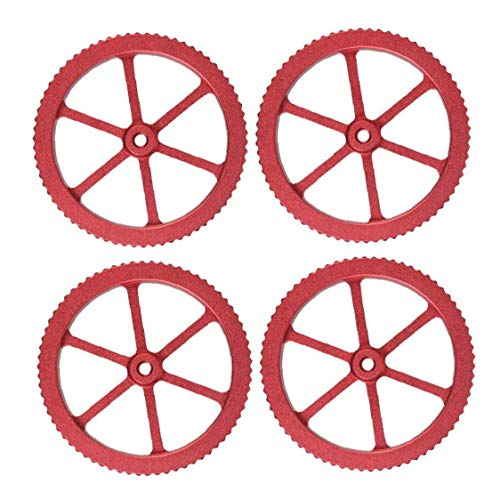 Upgraded Aluminum Hand Twist Leveling Nut with 4 Hot Bed Die Springs for Ender 3 Printer 4PCS Gift for Father