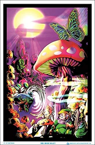 "Magic Valley Blacklight Poster - 23"" x 35"""