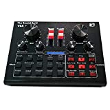 leeofty v8x pro live sound card 15 effetti sonori apparecchiature di registrazione audio