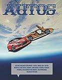 Lustiges Malbuch für Kinder - Autos. Groß 350+ Seiten. Mehr als 200 Autos: Citroen, Land Rover, Ferrari, Peugeot, Hyundai, Volkswagen und andere. Entspannendes Malbuch für Kind
