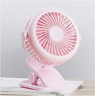 10.5420cm//4.21.68 Inches, Dark Blue//Pink//White//Blue Three-Speed Wind Adjustable Yougou01 Electric Fan Hand-held Large Wind Small Electric Fan Color : Blue