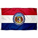 Sports Flags Pennants Company State of Missouri Flag 3x5 Foot Banner