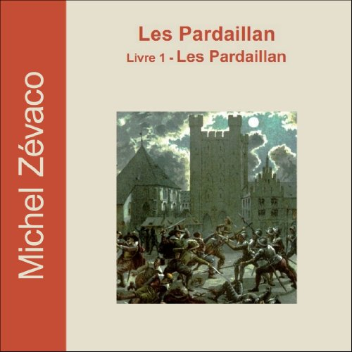 Les Pardaillan audiobook cover art