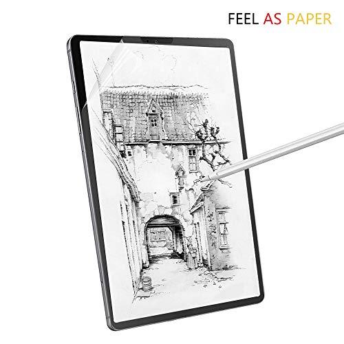 Junfire as Paper Feel Bildschirmschutz für Samsung S6, 10.5 Zoll 2019, Papier-Textur Displayschutzfolie wie auf Papier Schreiben, Malen und Zeichnen für Tablet SM-T860/T865