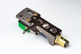 Titanium plated Headshell, Audio Tech. cartridge, Elliptical Stylus for AKAI AP-006, ATT05U, AP-306/C, ATT022U, AP-007, AP-Q50, AP-D30. AP-307, AP-005, ATT10U, AP-103/C, AP-Q80, AP-Q55, - MADE IN UK