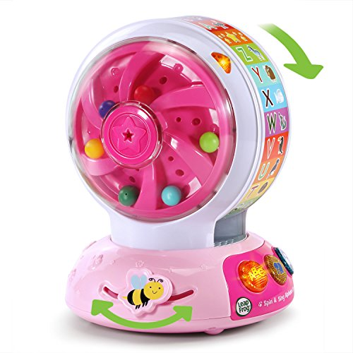 LeapFrog Spin and Sing Alphabet Zoo Amazon Exclusive, Pink