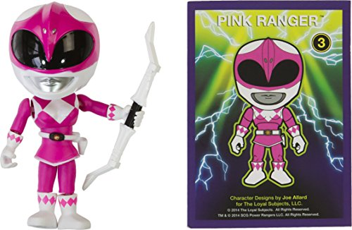 "Power Rangers Pink Ranger: ~3.3"" The Loyal Subjects Action Vinyls x Mini-Figure"