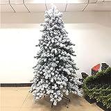 Árbol De Navidad Artificial Pino, Arboles De Navidad con Blanco Nevado Seguro Respetuoso del Medio Ambiente Reutilizable Arbol Navidad, Fácil De Montar, Decoración Navideña
