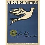 Wee Blue Coo Propaganda Protest Peace Dove Vietnam War