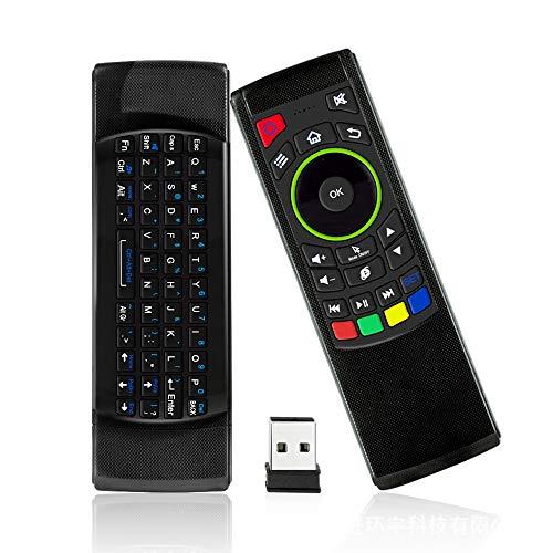 Air Mouse 2,4GHz Wireless Mini Teclado con Touchpad Fondo Mando a Distancia Android TV Box, Kodi TV Box, Google TV Stick, Smart TV y Más