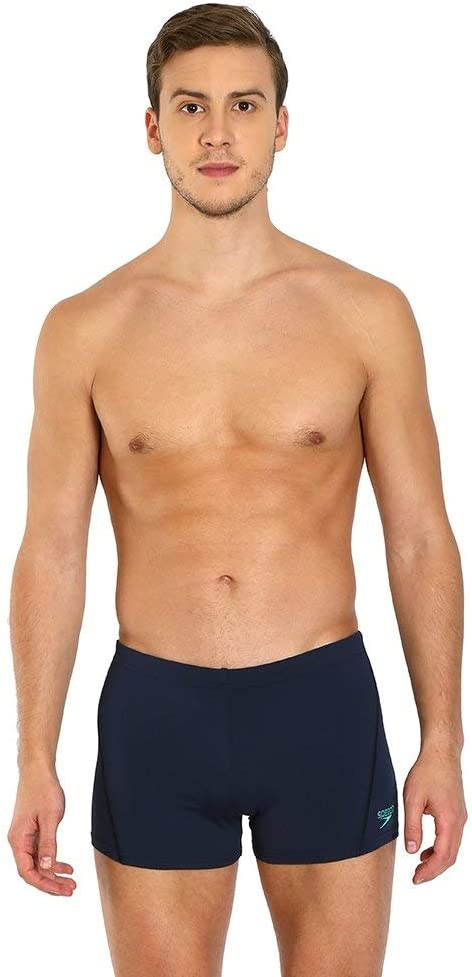 Panegy Mens Durable Solid Square Leg Swimsuit Jammer Briefs Swimwear