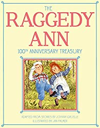 Image: The Raggedy Ann 100th Anniversary Treasury: How Raggedy Ann Got Her Candy Heart; Raggedy Ann and Rags; Raggedy Ann and Andy and the Camel with the ... Ann and Andy and the Nice Police Officer | Hardcover – Picture Book: 144 pages | by Johnny Gruelle (Author), Jan Palmer (Illustrator). Publisher: Little Simon; Bind-Up Edition (October 6, 2015)