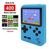 Fiotasy Handheld Retro FC Games Consoles with 400 NES Classic Games, Portable Gameboy