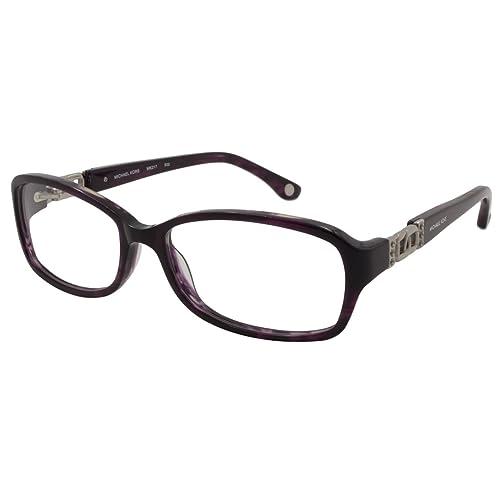 36625772d3af Michael Kors MK217 Eyeglasses (502) PURPLE HORN, 54mm