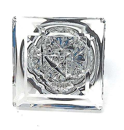 Exceptional Princess-Diamond Cut Crystal French Door Knobs-When only The Very Best Will do. Mounts to Any Solid Surface with 3 Screws.