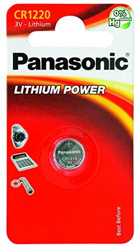 Panasonic Knopfzelle Lithium CR1220 (3 Volt)