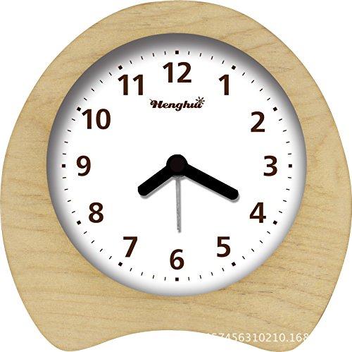 WALL CLOCK Accueil Horloge de Siège en Bois Horloge de Chambre de Haute qualité européenne, 2