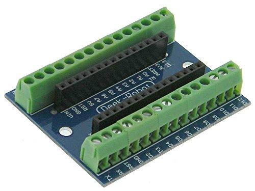 Screw shield (arduino-compatibile) nano v3.0 scheda espansione i/o morsettiera a vite