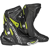 Richa Blade Waterproof Motorcycle Boots 41 Black Fluo Yellow (UK 7)