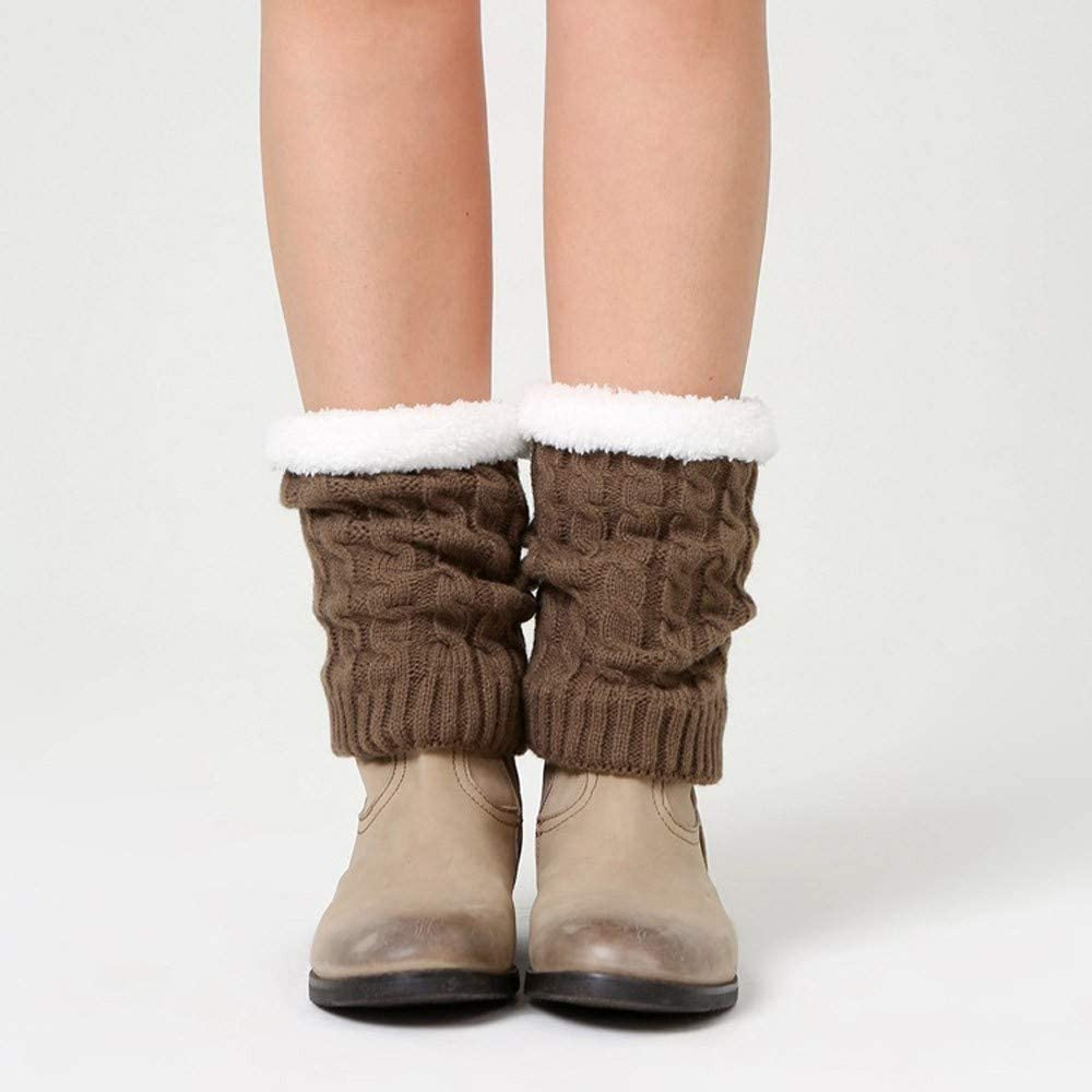 Women Winter Warm Knit Leg Crochet Boot Warmers Slouch Leggings Max 58% OFF National products