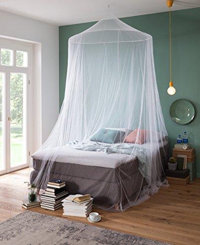 RSP® Moskitonetz Home für Doppelbetten mit extra großem Spannring für Zuhause (Home)