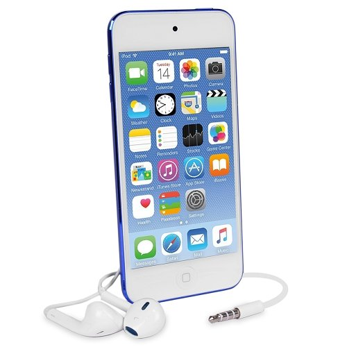 Apple iPod Touch 16GB Blue (6th Generation) MKH02LL/A (Renewed)