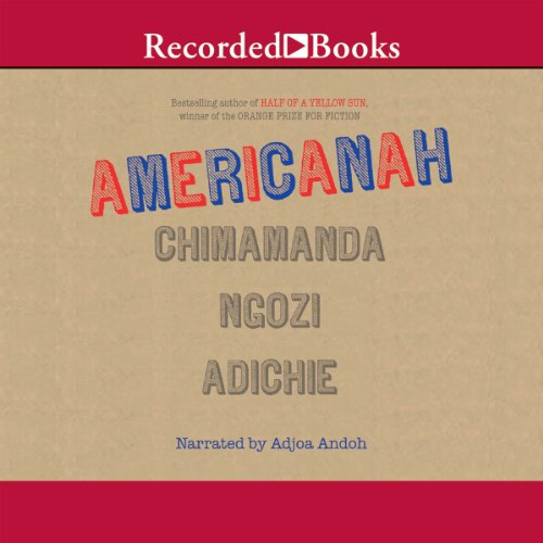 Americanah audiobook cover art