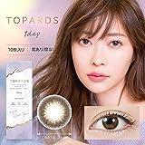トパーズ - TOPARDS - 10枚 / 指原莉乃 カラコン・ワンデー/デートトパーズ(PWR.±0.00)