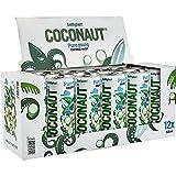 COCONAUT Kokoswasser – Coconut Water aus 100% jungen Kokosnüssen – erfrischend, kalorienarm, vegan, gesund und isotonisch in verschiedenen Sorten (12 x 320 ml Dose – inklusive Einwegpfand)