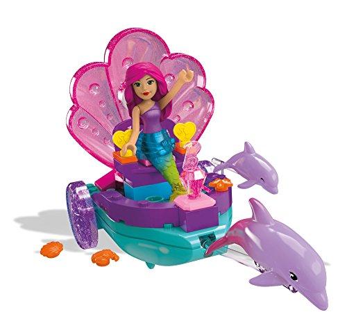 Mega Construx Barbie Mermaid Carriage Building Kit