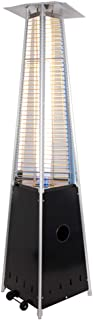 Radiador eléctrico MAHZONG Calentador de Gas licuado piramidal en Forma de pirámide Hogar Calentador al Aire Libre Jardín Bar Restaurante Calentador Comercial