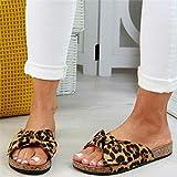B/H De Douche Antidérapant Plage Chaussures,Pantoufles à nœud de Grande Taille Femme, C...