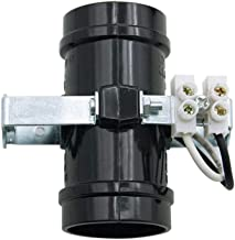 EFINEHOME 2 Pack Black Sockets Replacement, Medium Base 2-Light Twin, Phenolic Multi-Cluster Incandescent Lampholder, Keyless with Male top & Bottom Bracket (2 Light Socket)