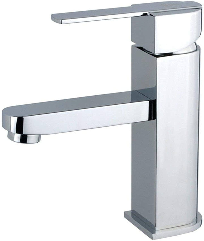 Oudan Kitchen mixer bathroom faucets basin mixer tap hot and cold (color   -, Size   -)