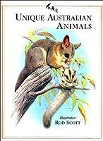 Unique Australian Animals 1863024700 Book Cover