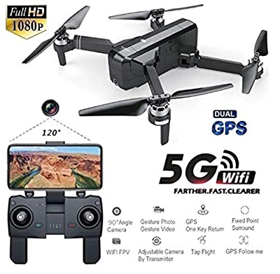 Faironly SJRC F11 GPS 5G Wifi With 1080P Camera 25mins Flight Time Brushless Selfie RC Drone Quadcopter 5G 1080P ¡