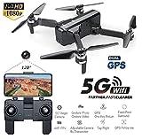Faironly SJRC F11 GPS 5G WiFi FPV avec caméra 1080P 25 Minutes de vol Temps de vol sans Bras Pliable Selfie RC Drone Quadricoptère 2 Battery