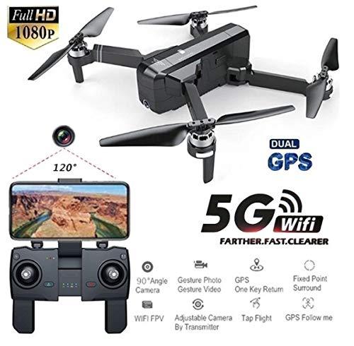 Faironly SJRC F11 GPS 5G WiFi mit 1080P Kamera 25 Minuten Flugzeit Brushless Selfie RC Drohne Quadcopter 5G 1080P