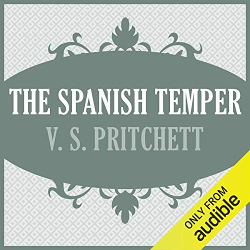 The Spanish Temper audiobook cover art