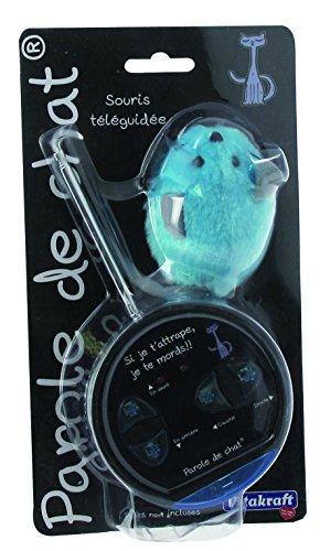 Vitakraft Katzenspielzeug Maus, mit Fernbedienung, Plüsch